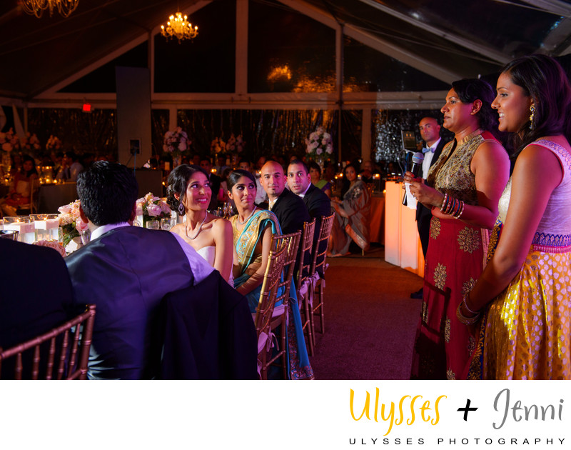 INDIAN WEDDING PARTY TOASTS - ULYSSES PHOTOGRAPHY