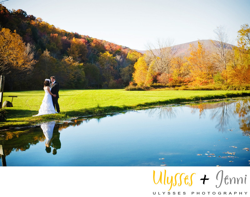 AUTUMN WEDDING AT FULL MOON RESORT
