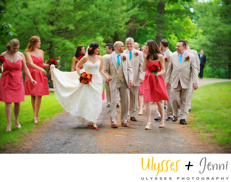 Horse Farm Wedding in the Hudson Valley