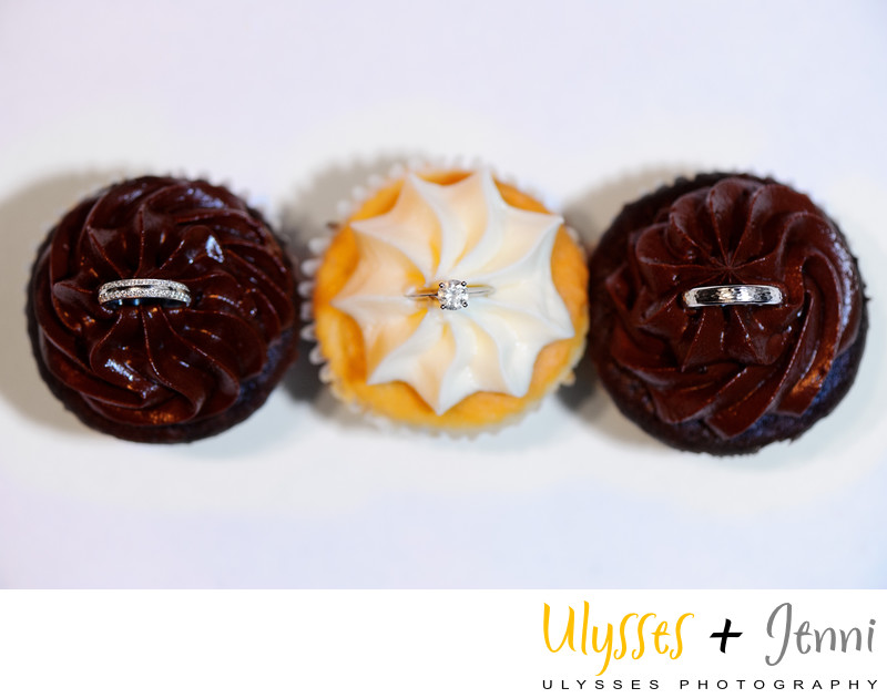 Wedding Rings and Cupcakes at Onteora