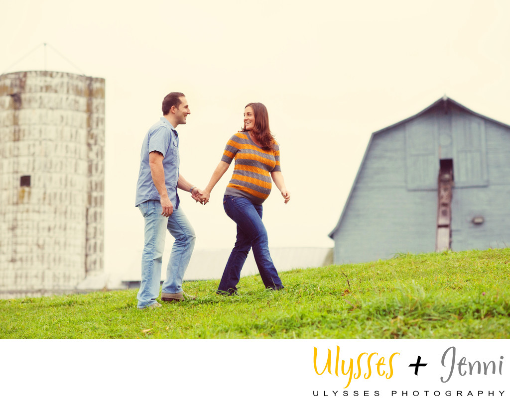 The Best Farm Maternity Photos