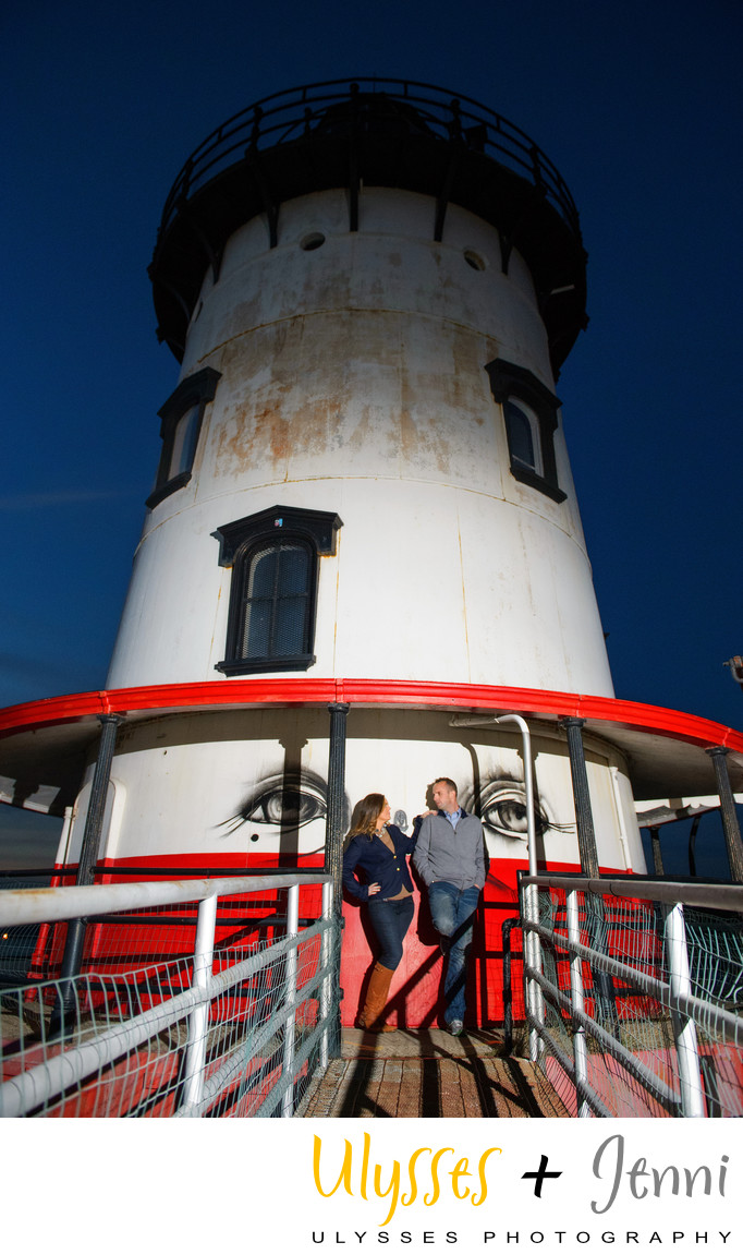 LIGHTHOUSE ENGAGEMENT PHOTO WESTCHESTER