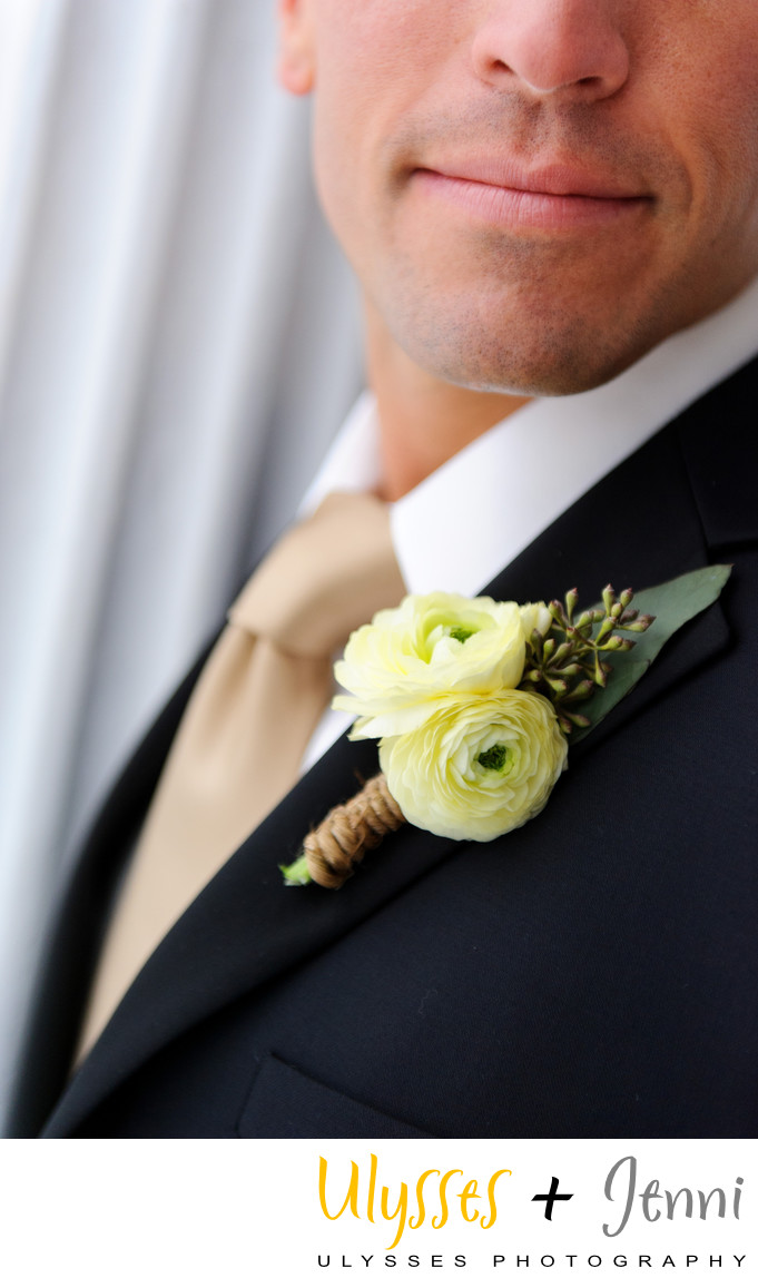Best Boutonniere for the Groom