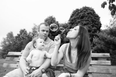 Best Black White Family Portrait Photographer