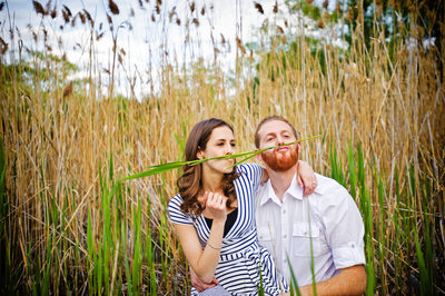 ADORABLY FUN ENGAGEMENT PHOTO