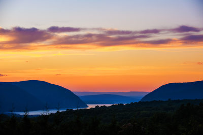 Hudson Valley Sunset at The Garrison