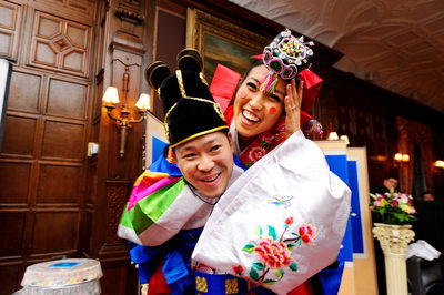 Korean Wedding at a NY Mansion