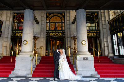 Wedding Portraits at The Plaza Hotel