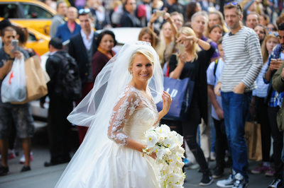 HOW TO STOP TRAFFIC ON 5TH AVENUE ON YOUR WEDDING DAY