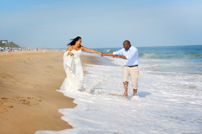 Beach Wedding on Montauk NY
