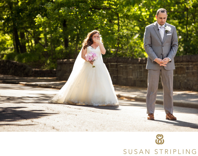 First look on the wedding day susan stripling photography stone mill wedding photographer junglespirit Gallery