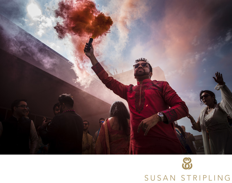 NYC Indian Wedding Baraat