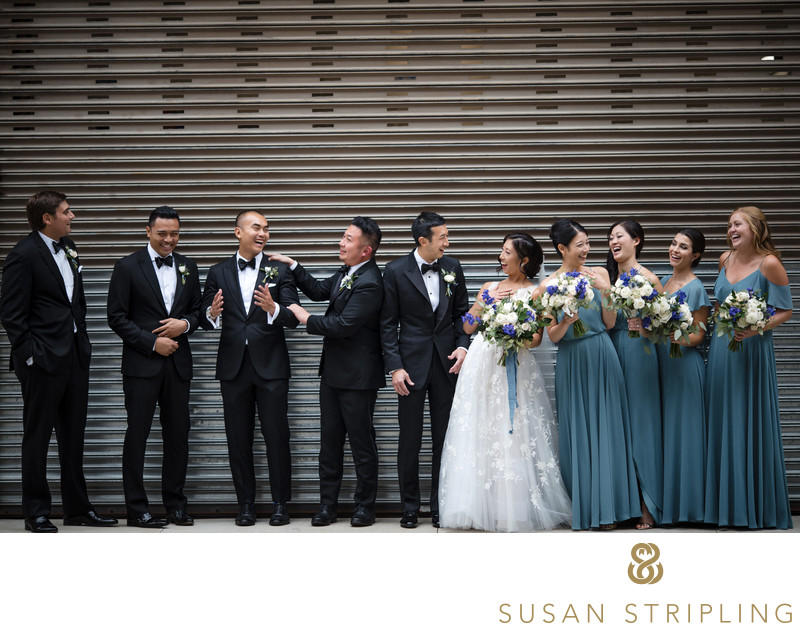 Tribeca Rooftop Wedding Photographers