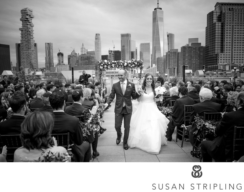 Tribeca Rooftop NYC Wedding Cost