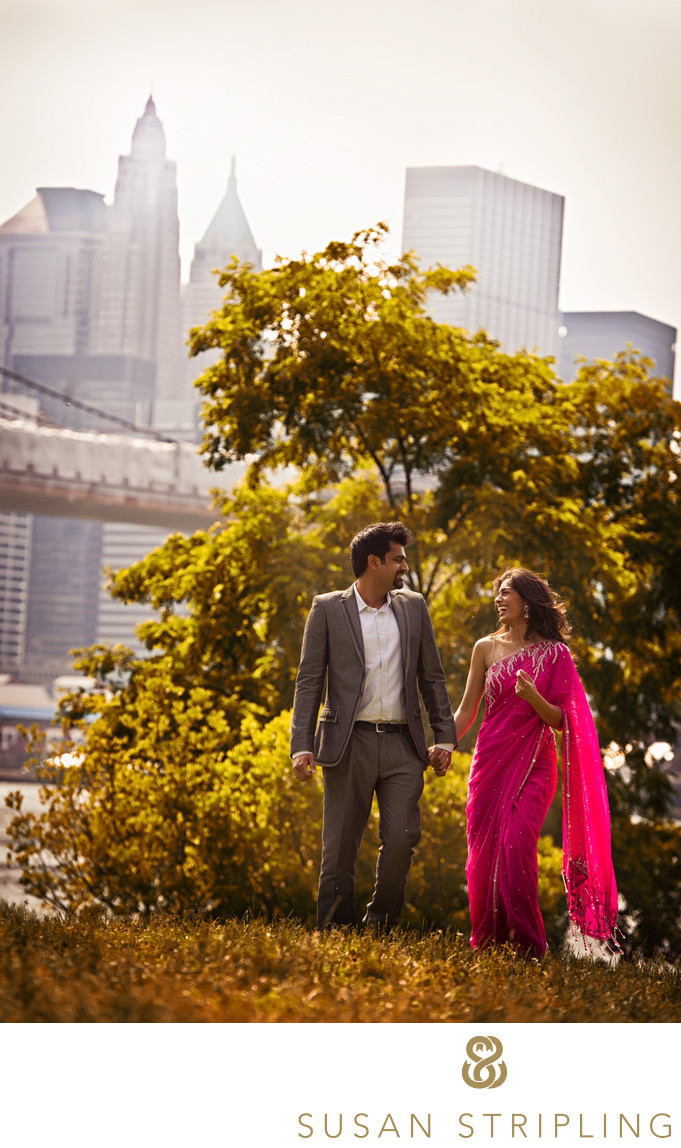 New York Indian Engagement Photographer