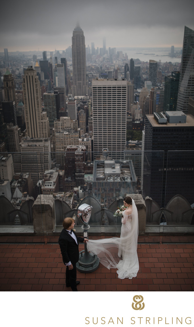 Top of the Rock Wedding Photos