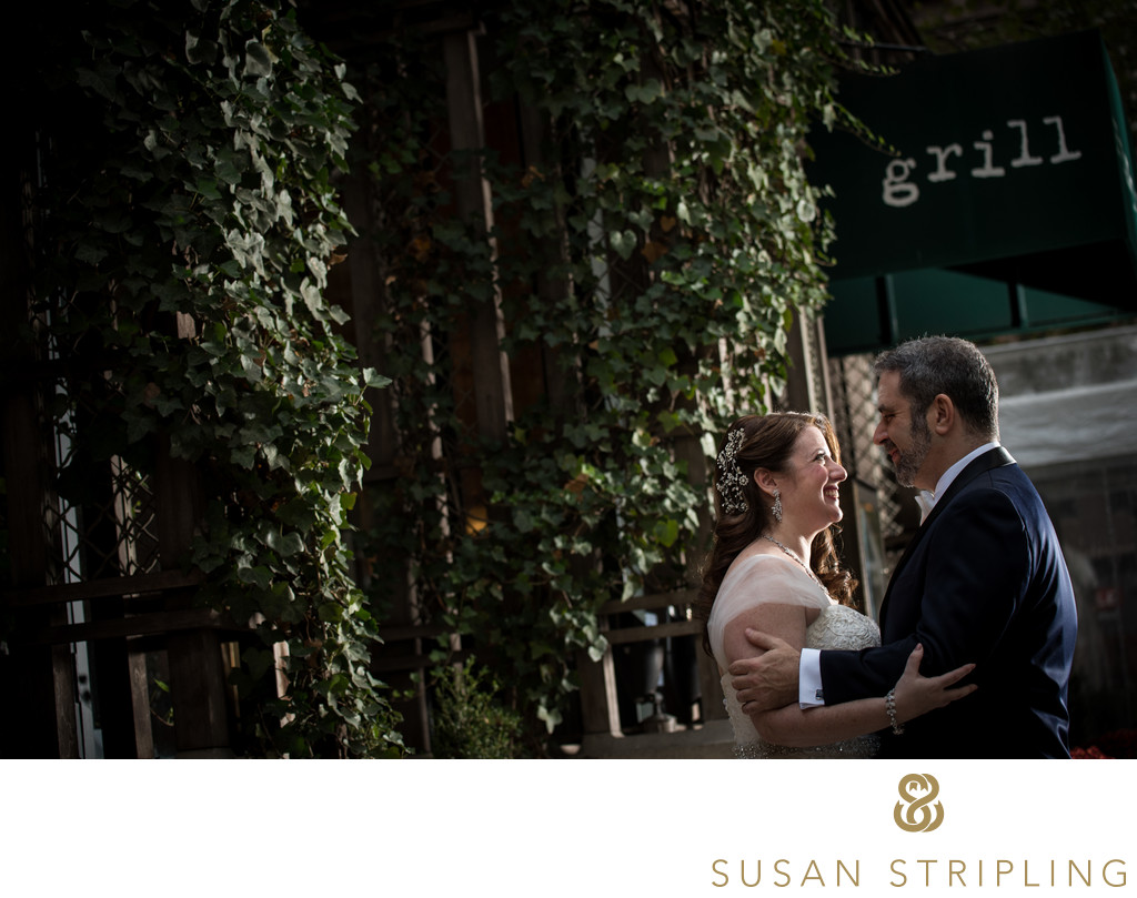 Bryant Park Grill Wedding Photography