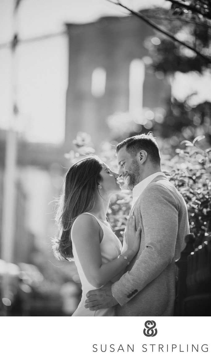 DUMBO Brooklyn Engagement Photographer