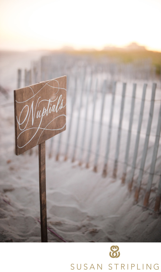 Bridgehampton Wedding Beach Ceremony