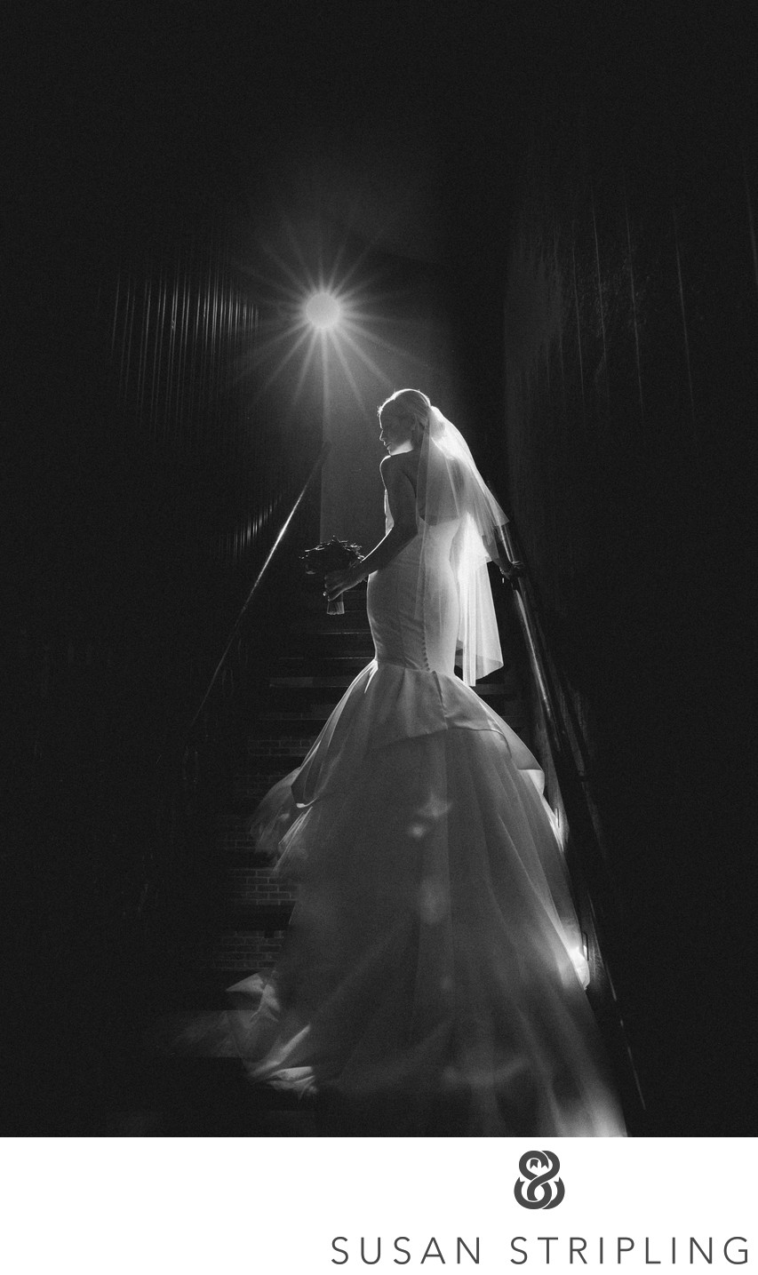 Fitler Club Philly Wedding Staircase Photo