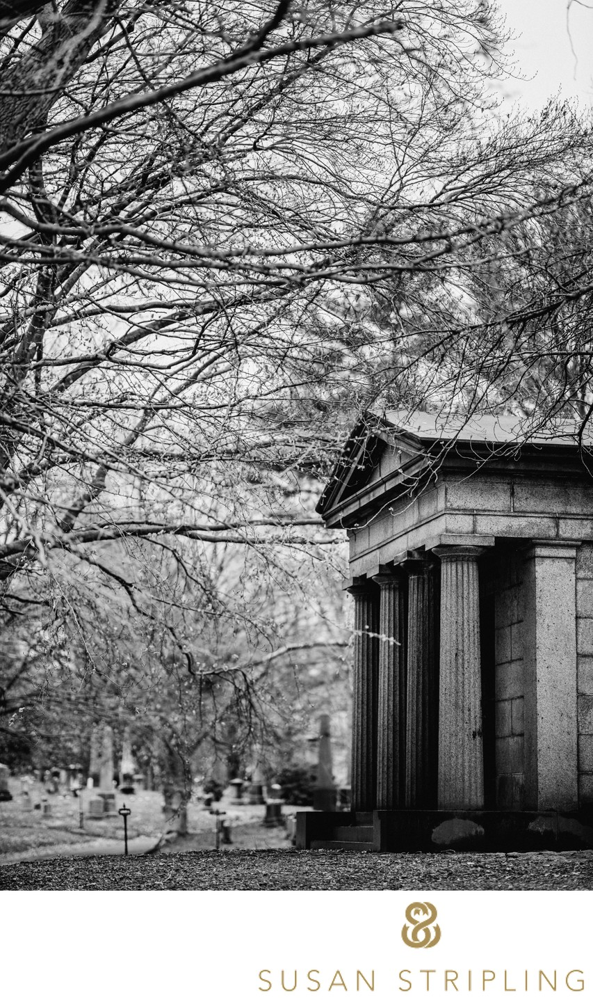 Green-Wood Cemetery Brooklyn Mausoleum Picture