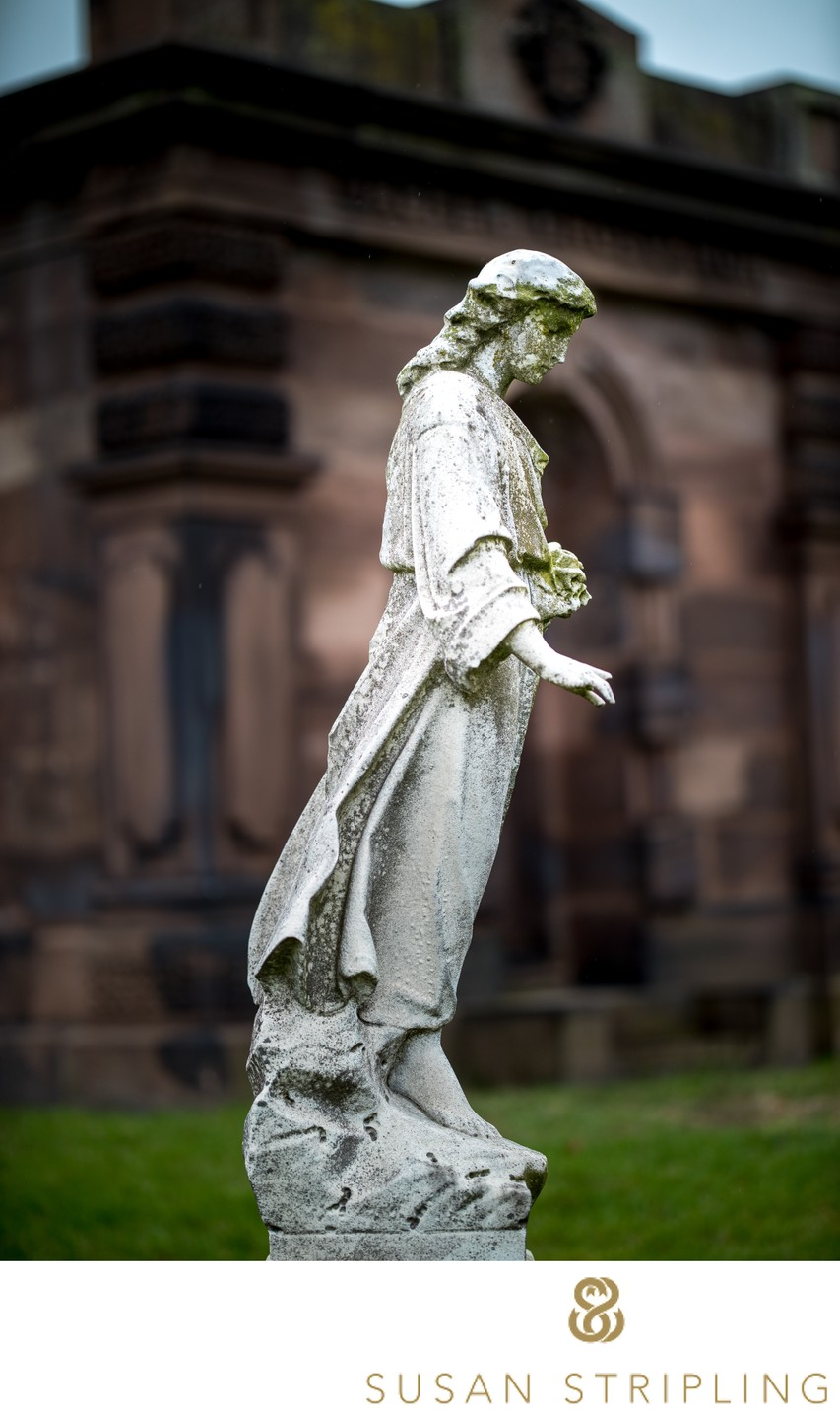 Green-Wood Cemetery Brooklyn Old Angel Statue
