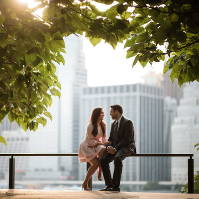 Brooklyn Promenade Engagement Pictures