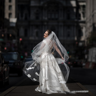 Broad Street Wedding Pictures Philly