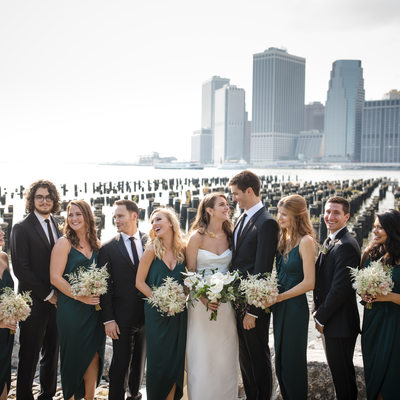 1 Hotel Brooklyn Bridge Wedding Pictures