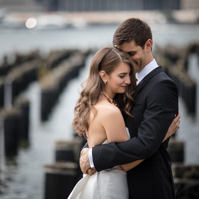1 Hotel Brooklyn Bridge Wedding Photos