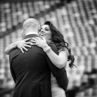 MetLife Stadium Wedding Photos