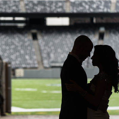 MetLife Stadium Wedding Instagram