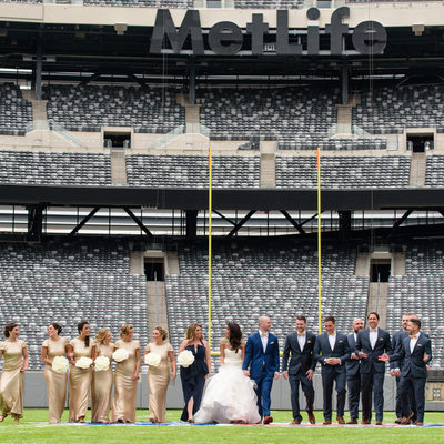 MetLife Stadium Wedding Pictures