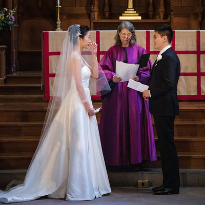 Princeton University Wedding Chapel Photos