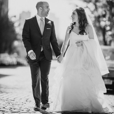 Tribeca Rooftop NYC Wedding Photography