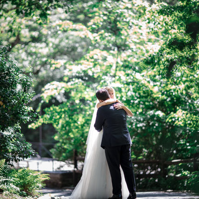New York Botanical Garden Wedding Stone Mill 2020