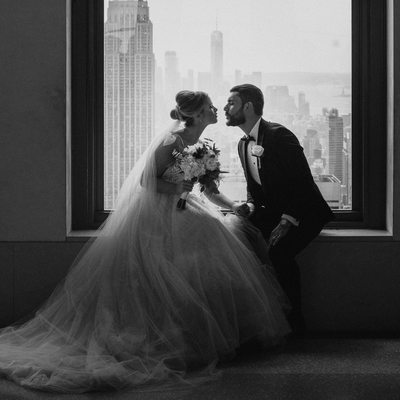 Top of the Rock NYC Wedding Photography