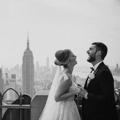 Top of the Rock NYC Wedding Instagram