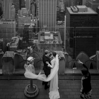Pictures Top of the Rock Wedding