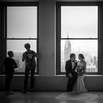 Photos Top of the Rock Wedding