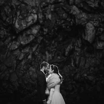Reynisfjara Elopement Photos