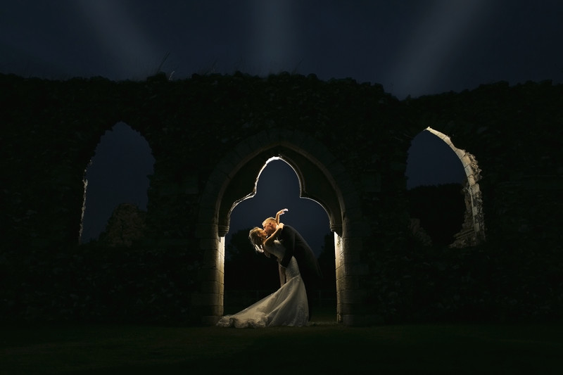 langley abbey ruins wedding photography norfolk