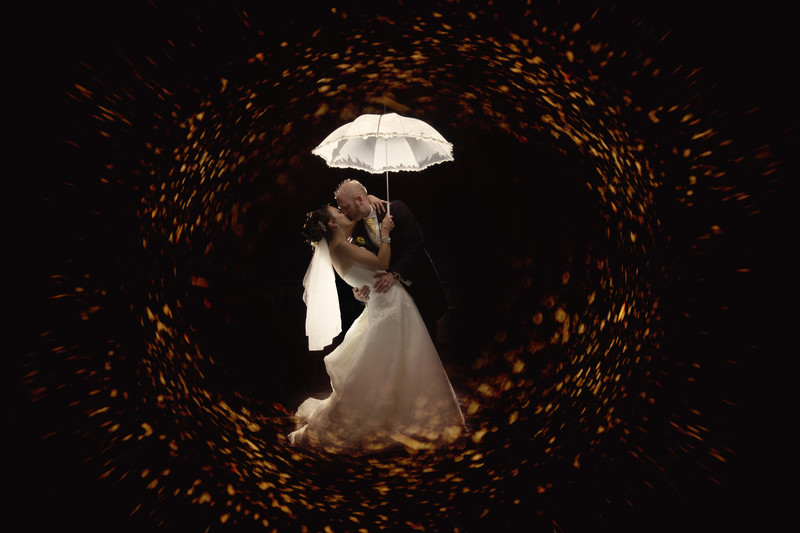 creative lighting wedding photography oaklands norwich