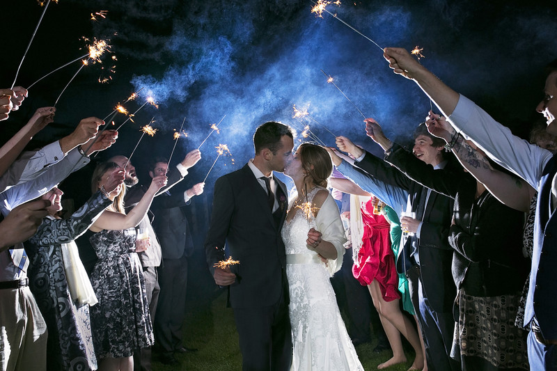 wedding sparkler shot southwood hall norfolk