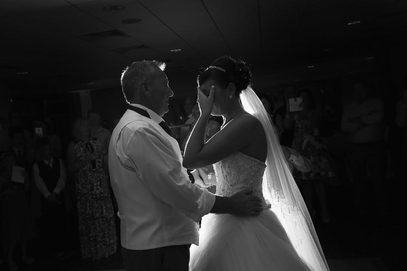 father and daughter wedding first dance norfolk gt yarmouth race course