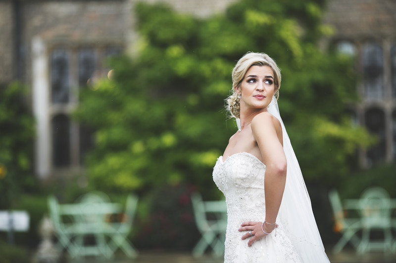 Hengrave Hall Bridal Portrait