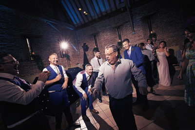 elms barn dance floor wedding photography norfolk