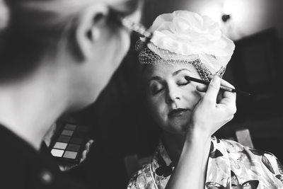 wedding make up piggyback barns norfolk
