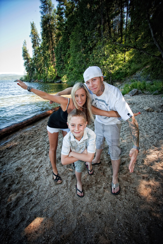 CDA Beach Family Photos