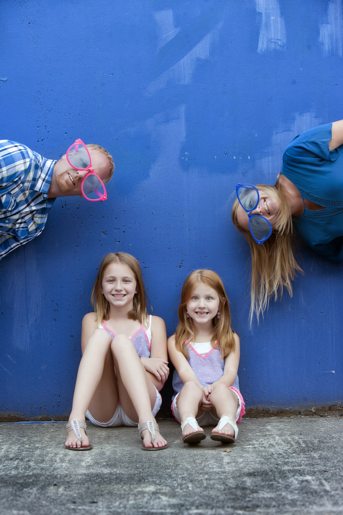 Quirky Family Photos in Spokane Valley